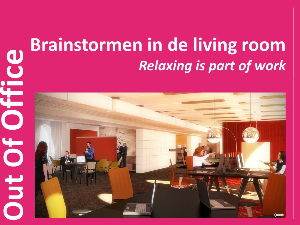 Brainstormen in de living room