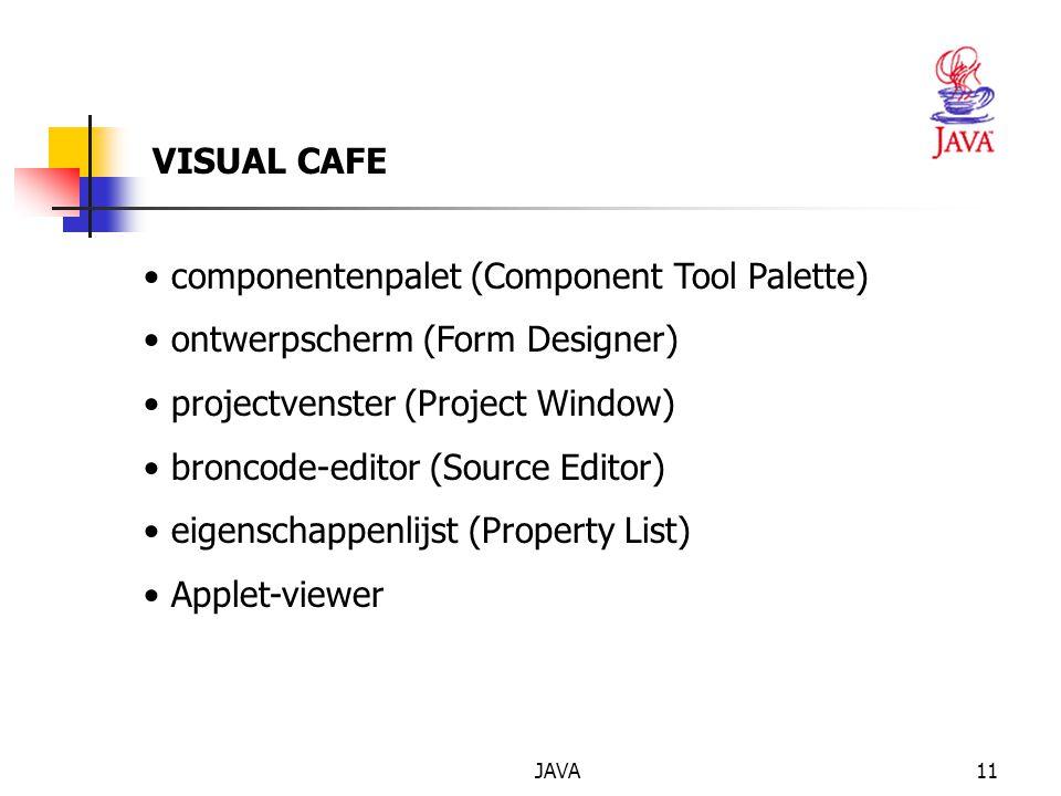 componentenpalet (Component Tool Palette)