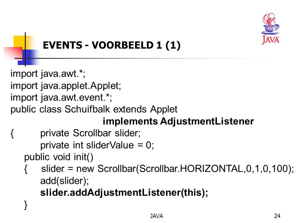 import java.applet.Applet; import java.awt.event.*;