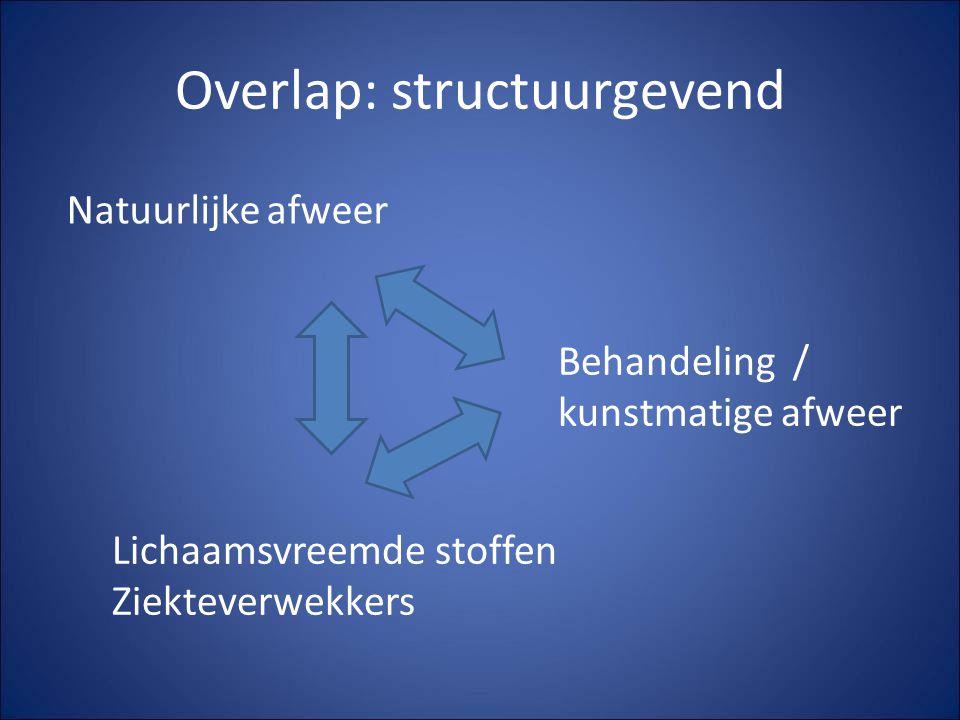 Overlap: structuurgevend