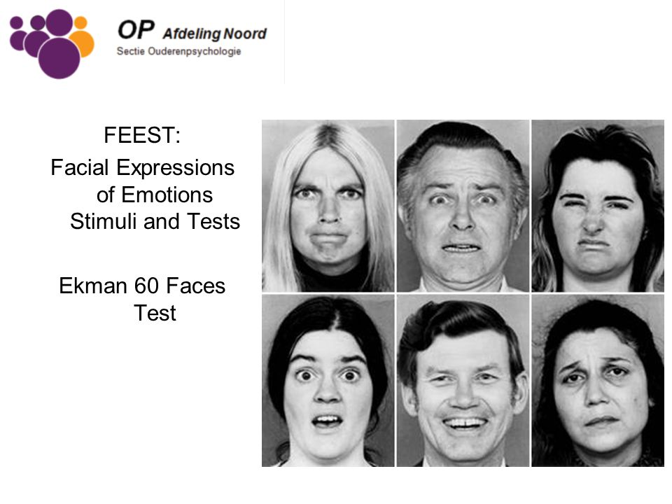 Facial Expressions of Emotions Stimuli and Tests