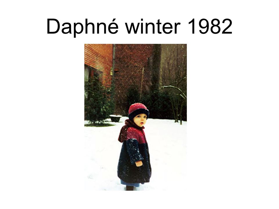 Daphné winter 1982