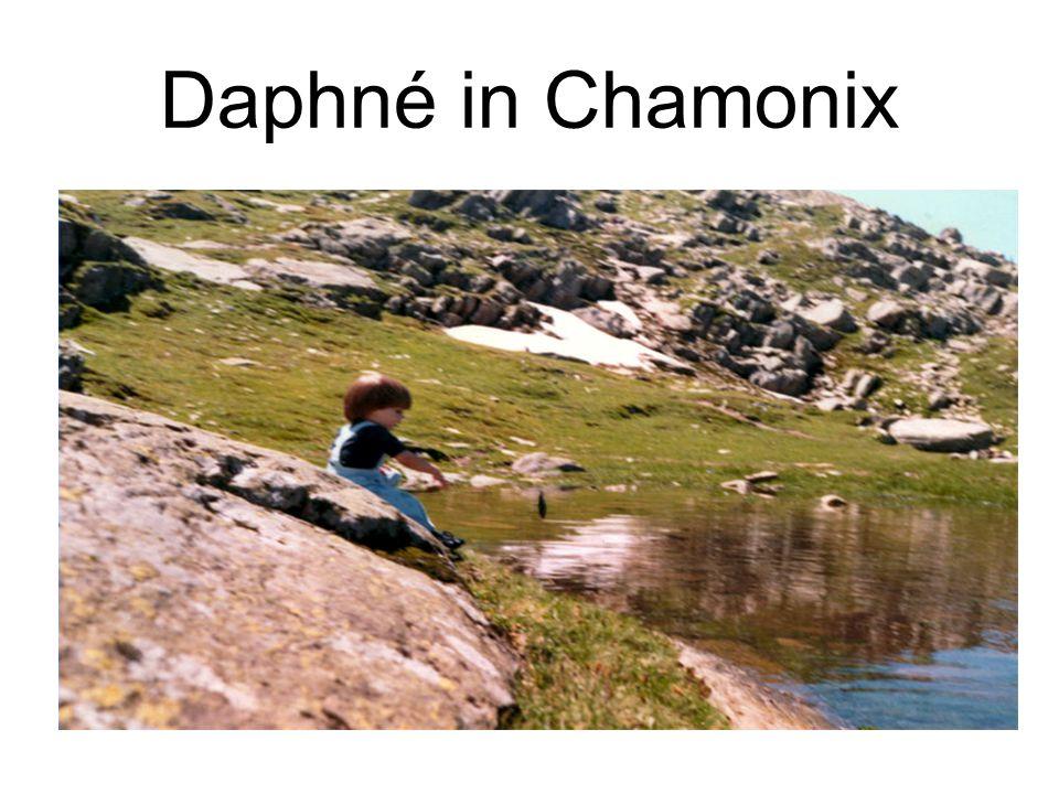 Daphné in Chamonix