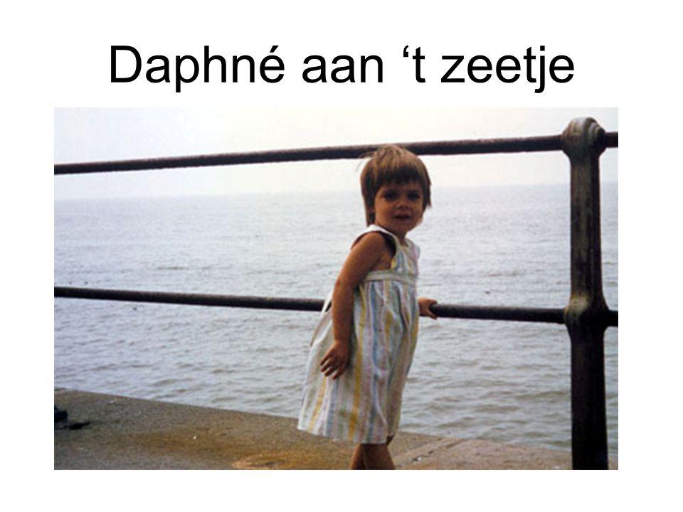 Daphné aan 't zeetje