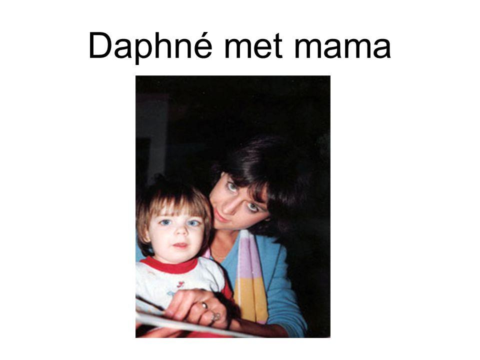 Daphné met mama