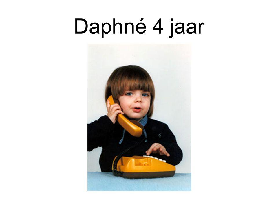 Daphné 4 jaar