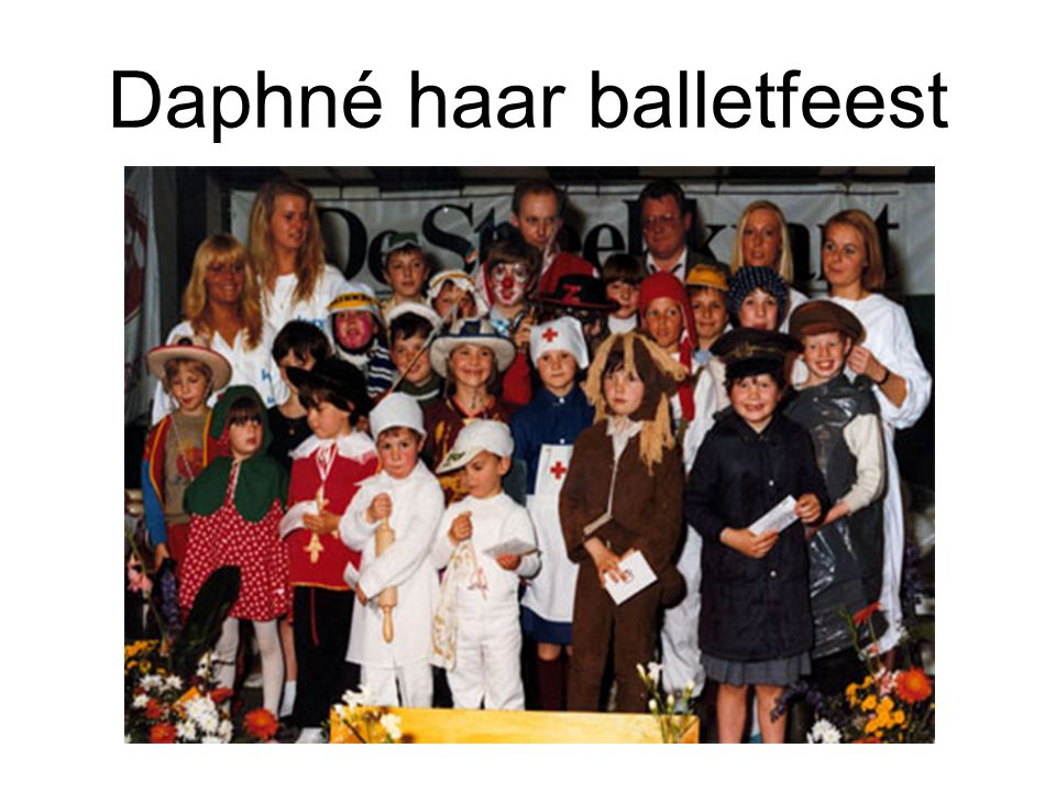 Daphné haar balletfeest
