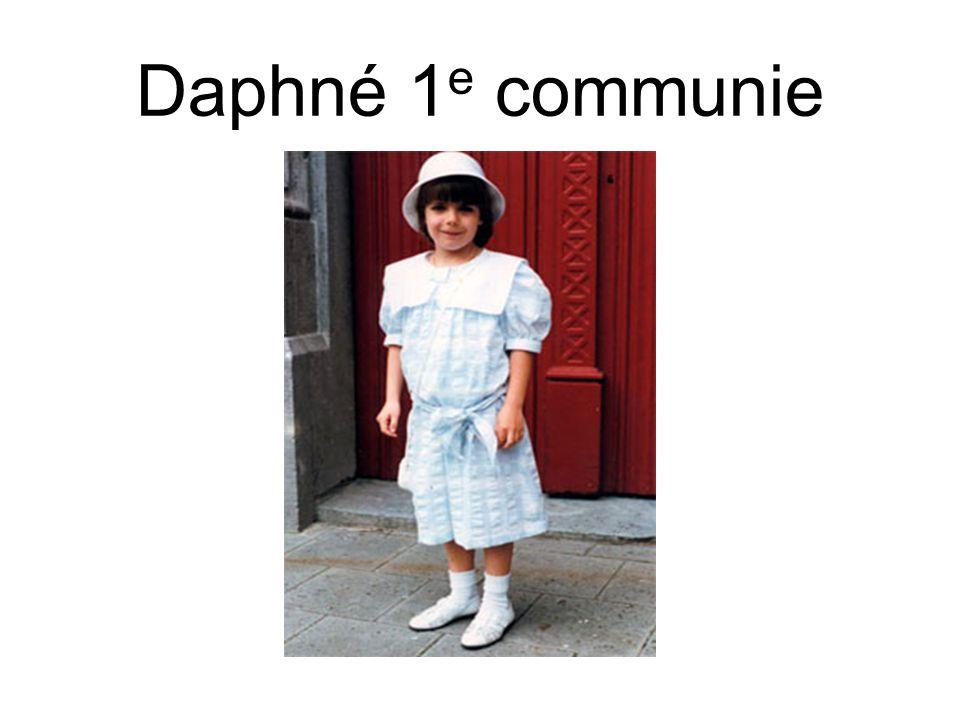 Daphné 1e communie