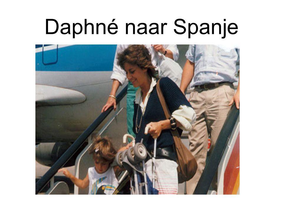 Daphné naar Spanje