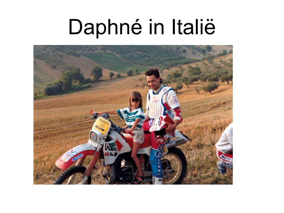 Daphné in Italië