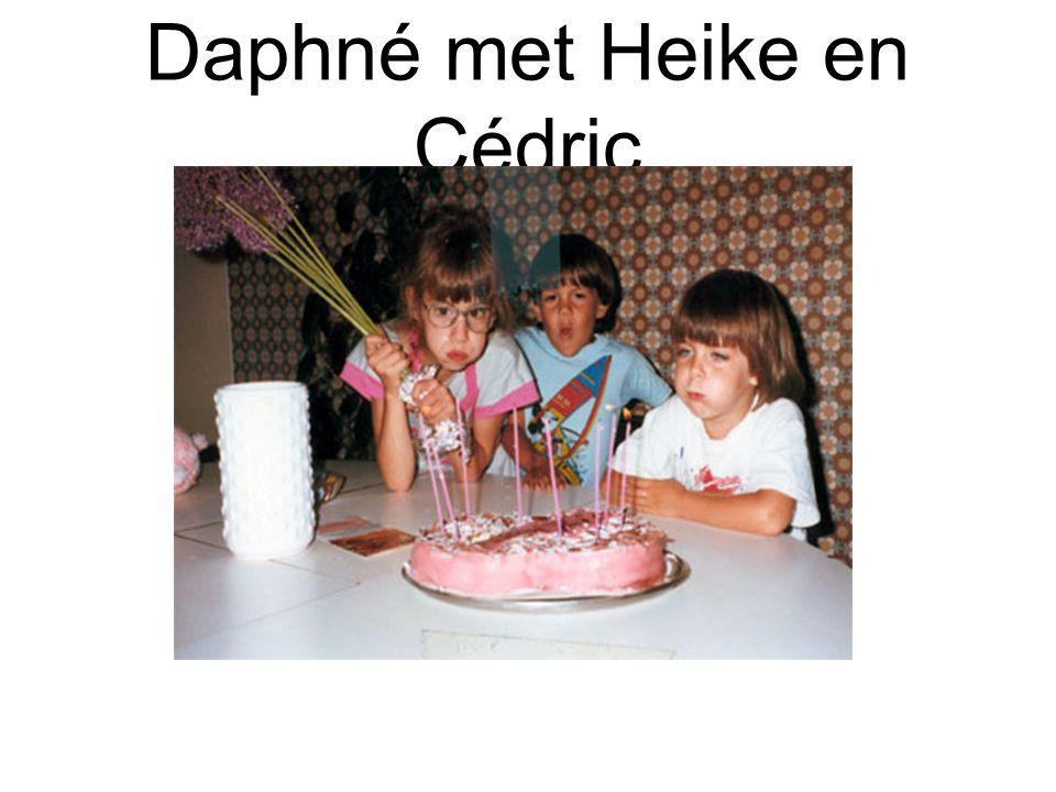 Daphné met Heike en Cédric