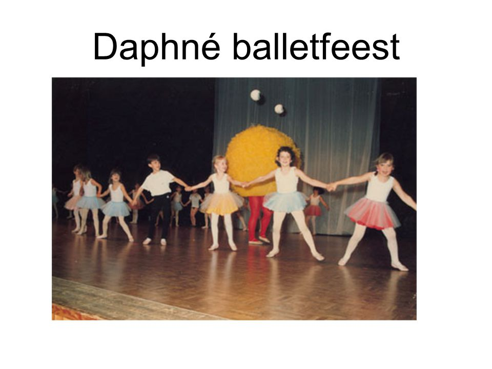 Daphné balletfeest