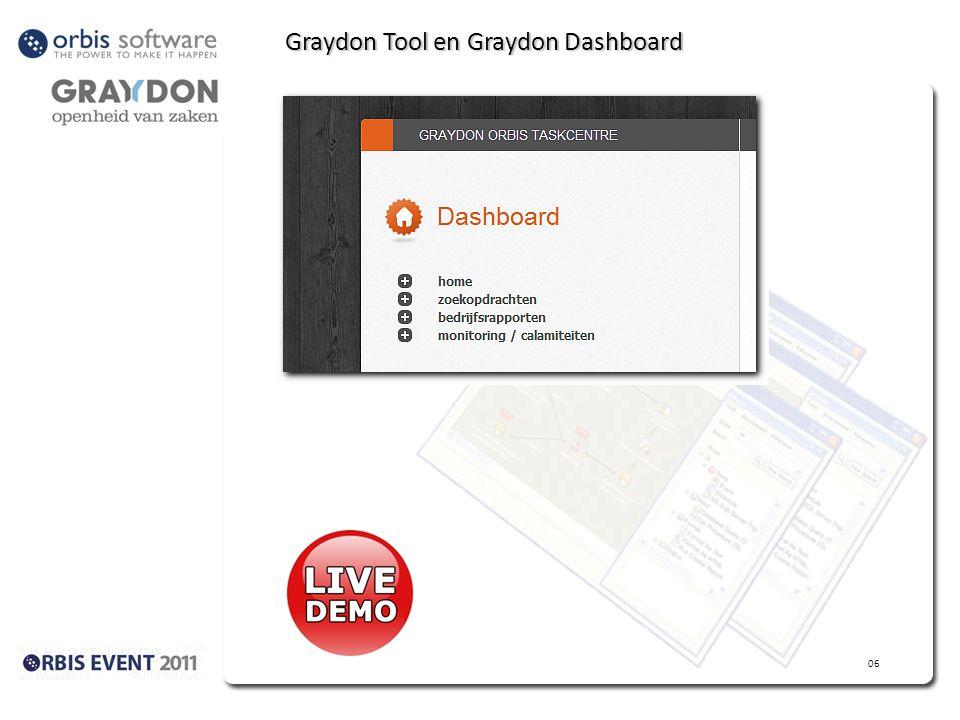 Graydon Tool en Graydon Dashboard