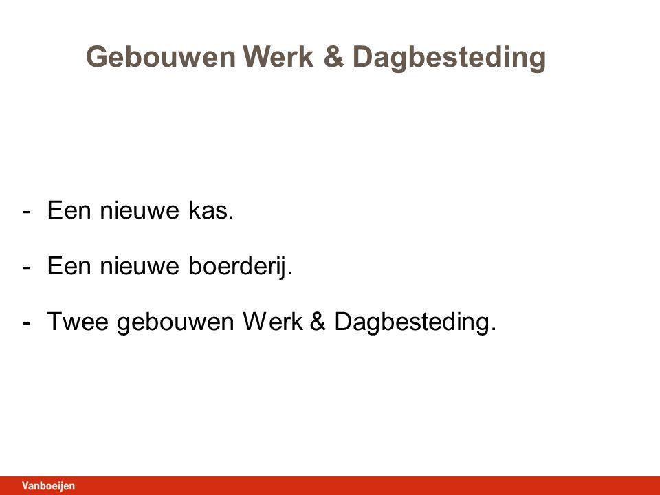 Gebouwen Werk & Dagbesteding