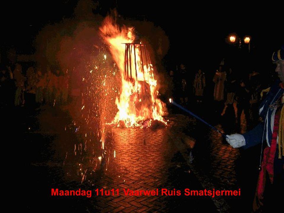 Maandag 11u11 Vaarwel Ruis Smatsjermei