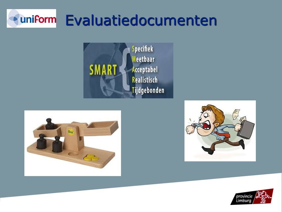 Evaluatiedocumenten