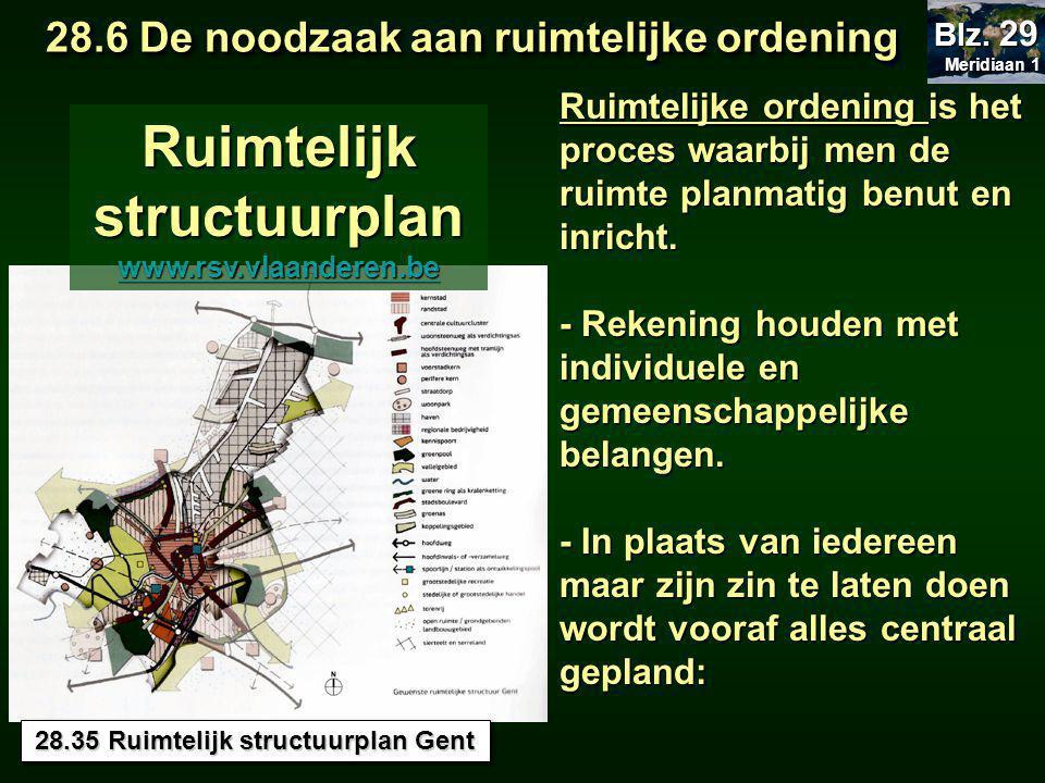 Ruimtelijk structuurplan 28.35 Ruimtelijk structuurplan Gent