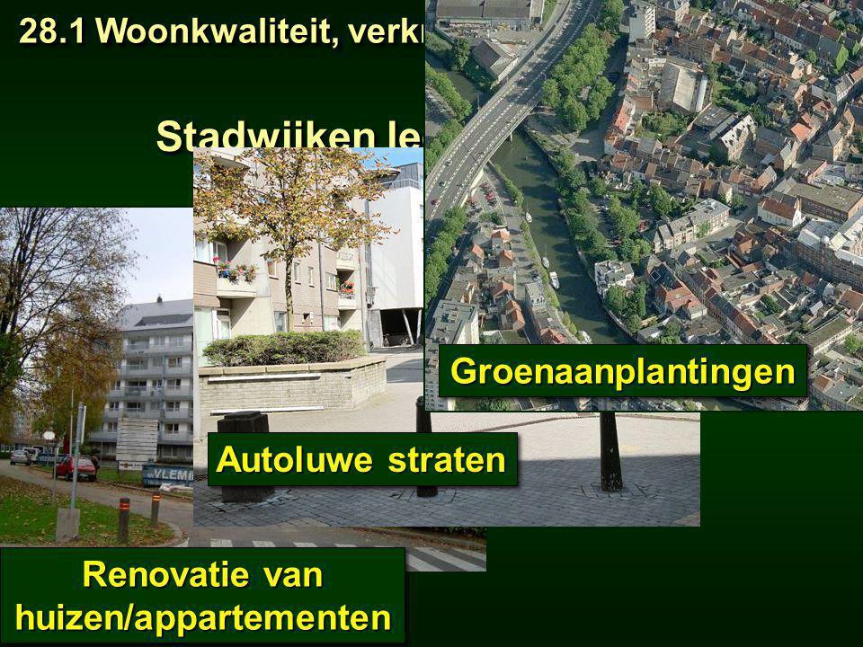Stadwijken leefbaar maken: huizen/appartementen