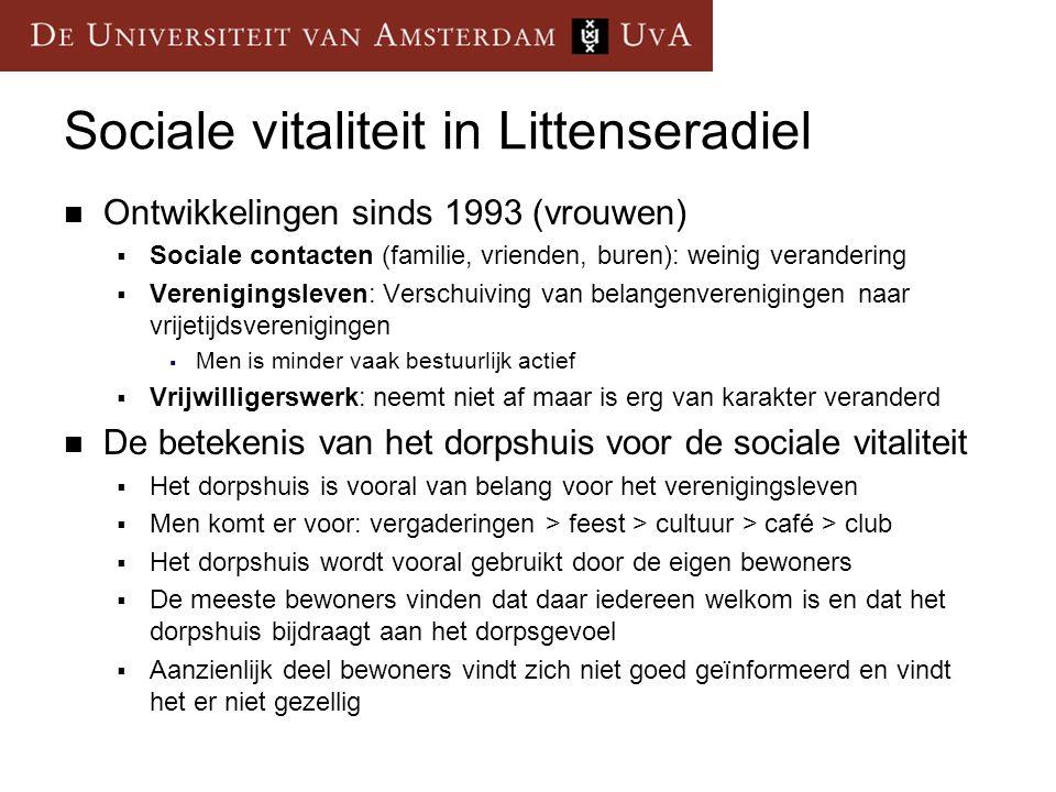 Sociale vitaliteit in Littenseradiel