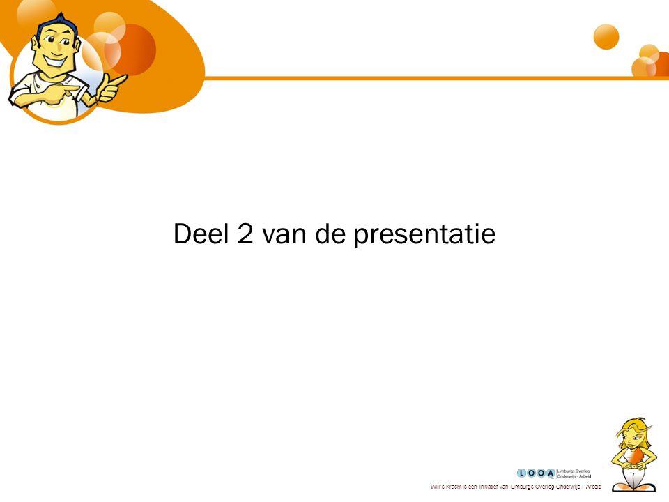 Deel 2 van de presentatie