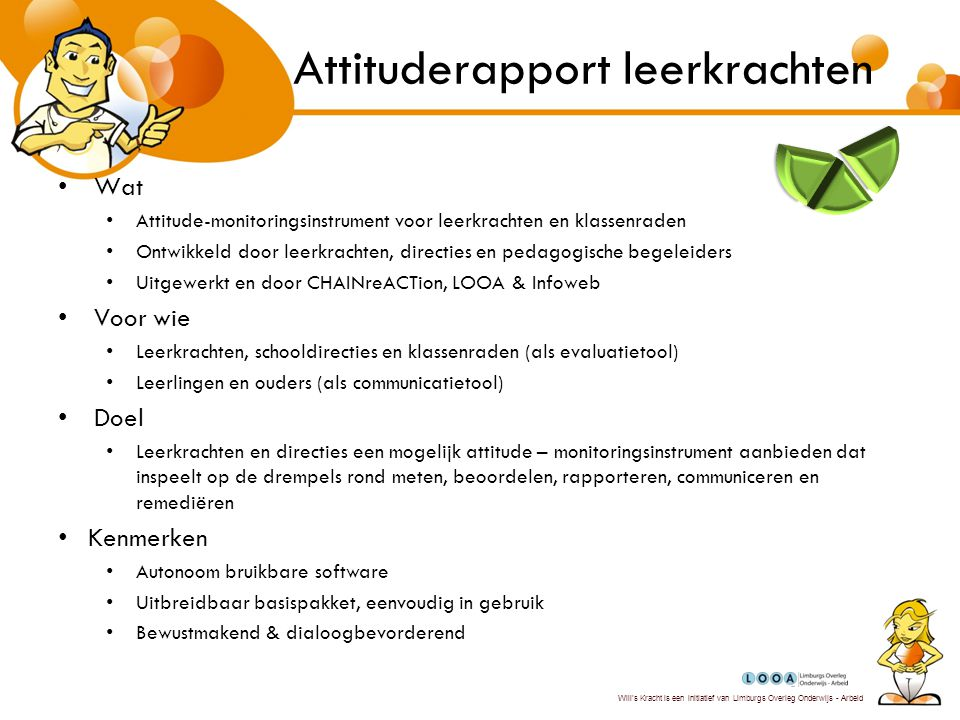 Attituderapport leerkrachten