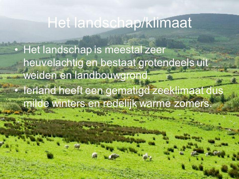 Het landschap/klimaat