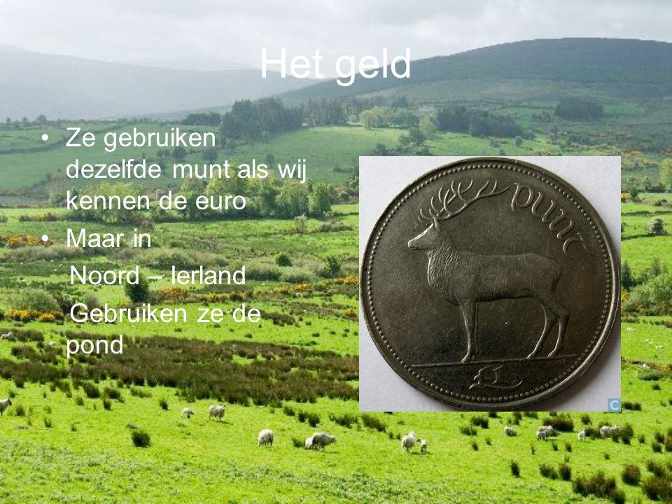 Het geld Ze gebruiken dezelfde munt als wij kennen de euro Maar in