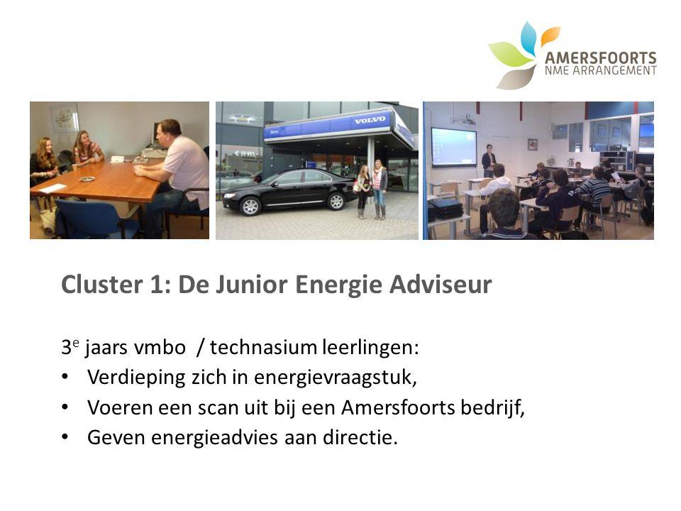 Cluster 1: De Junior Energie Adviseur
