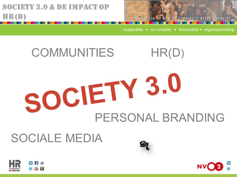 SOCIETY 3.0 COMMUNITIES HR(D) PERSONAL BRANDING SOCIALE MEDIA