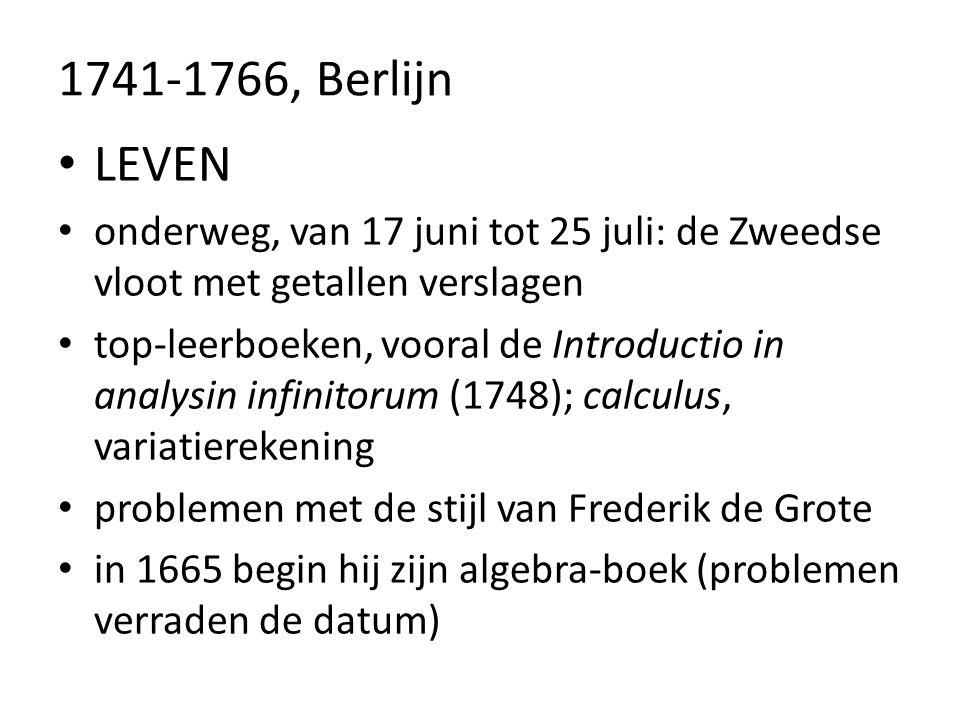 1741-1766, Berlijn LEVEN. onderweg, van 17 juni tot 25 juli: de Zweedse vloot met getallen verslagen.
