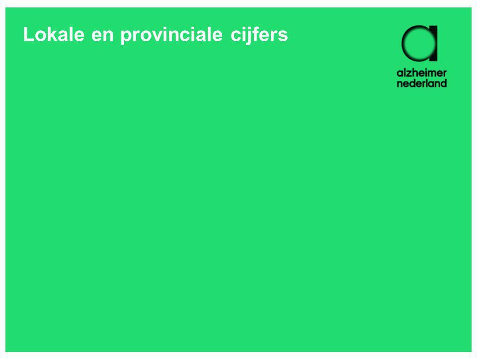 Lokale en provinciale cijfers