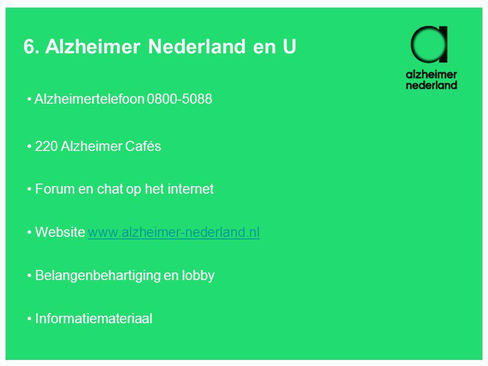 6. Alzheimer Nederland en U