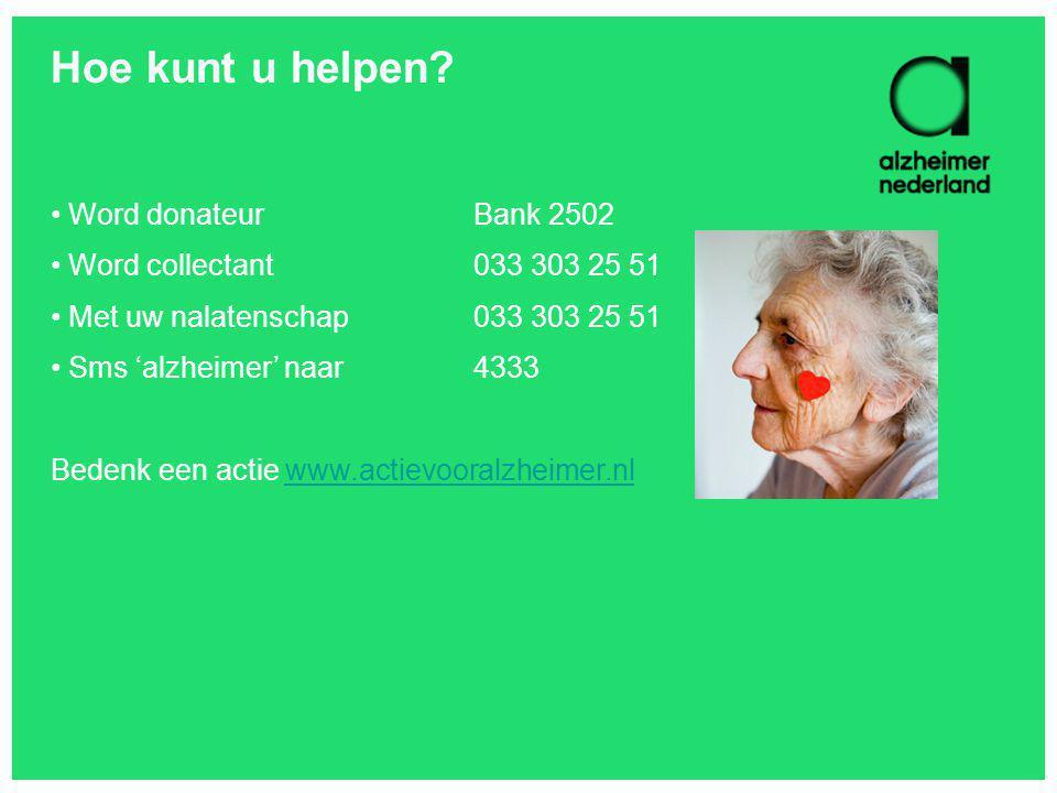 Hoe kunt u helpen Word donateur Bank 2502