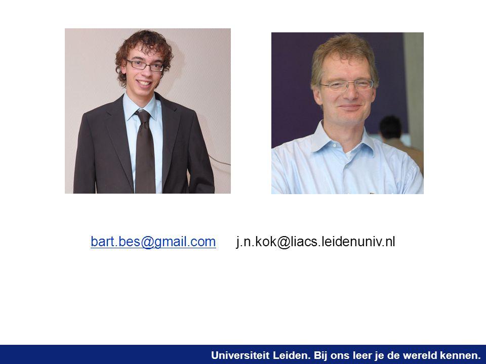 bart.bes@gmail.com j.n.kok@liacs.leidenuniv.nl