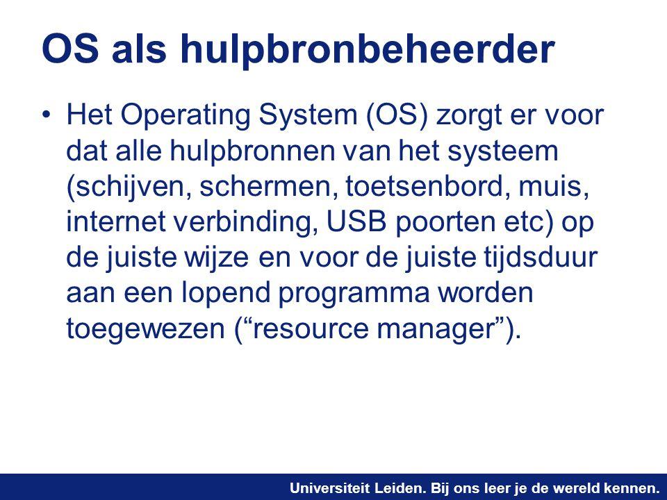 OS als hulpbronbeheerder