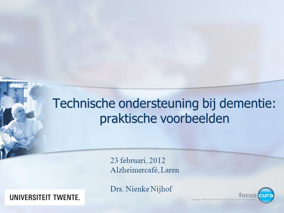 Technische ondersteuning bij dementie: praktische voorbeelden