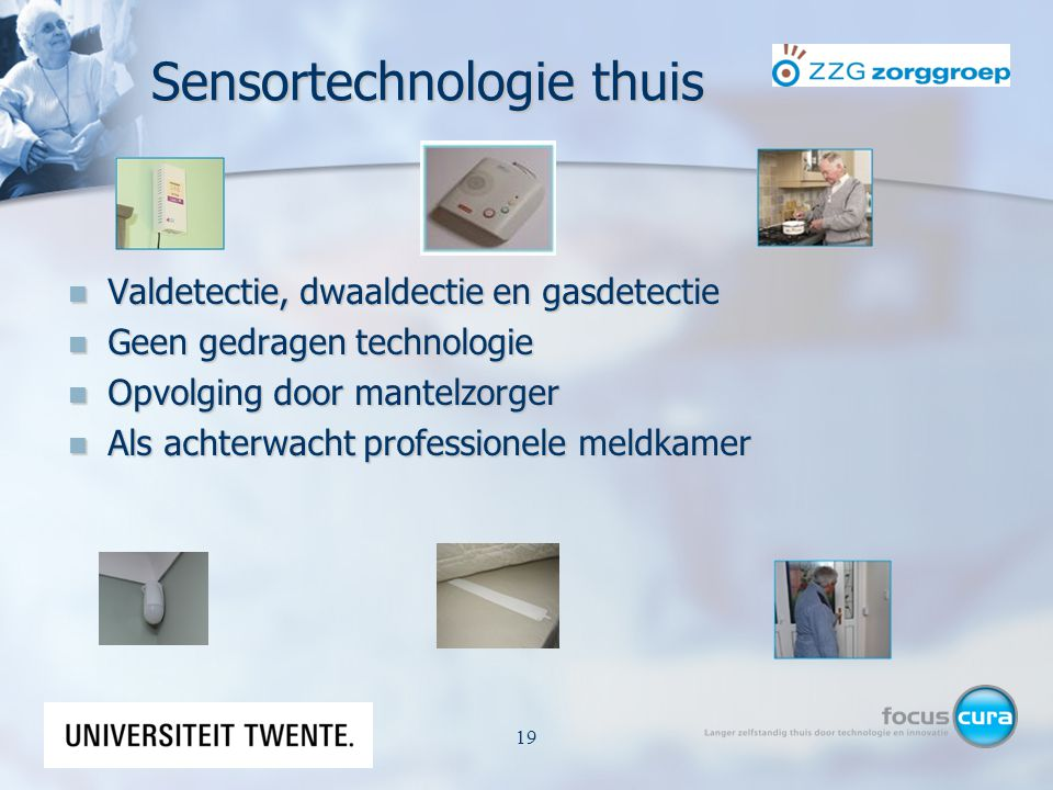 Sensortechnologie thuis