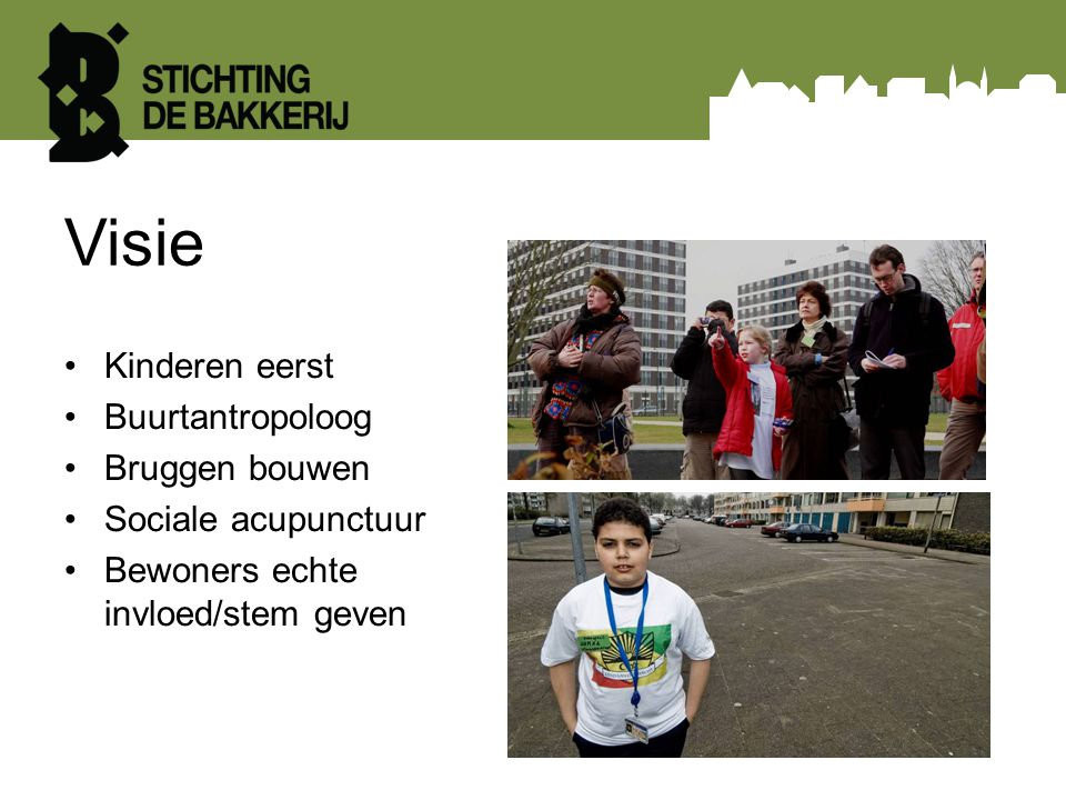Visie Kinderen eerst Buurtantropoloog Bruggen bouwen