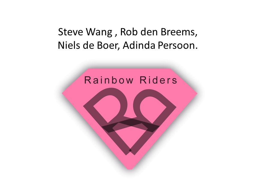 Steve Wang , Rob den Breems, Niels de Boer, Adinda Persoon.