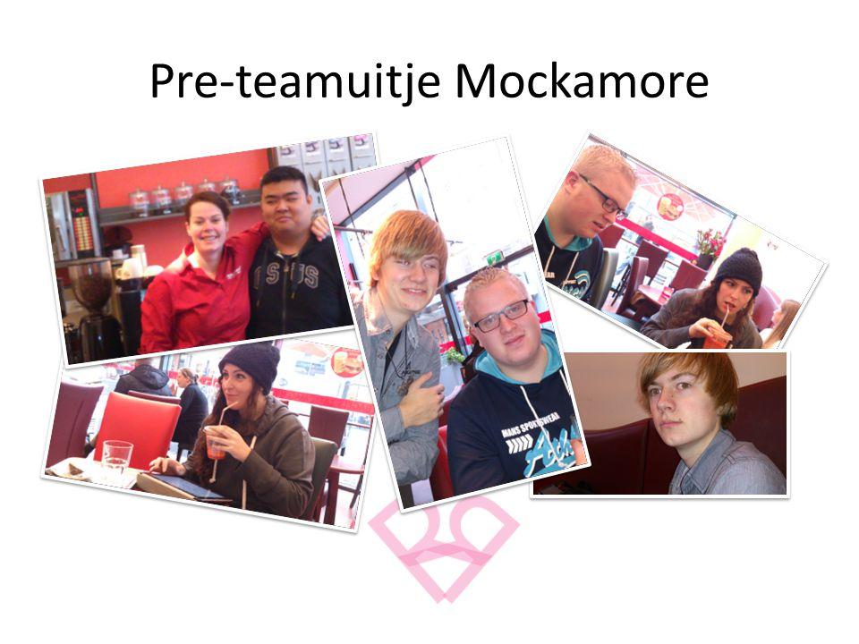 Pre-teamuitje Mockamore