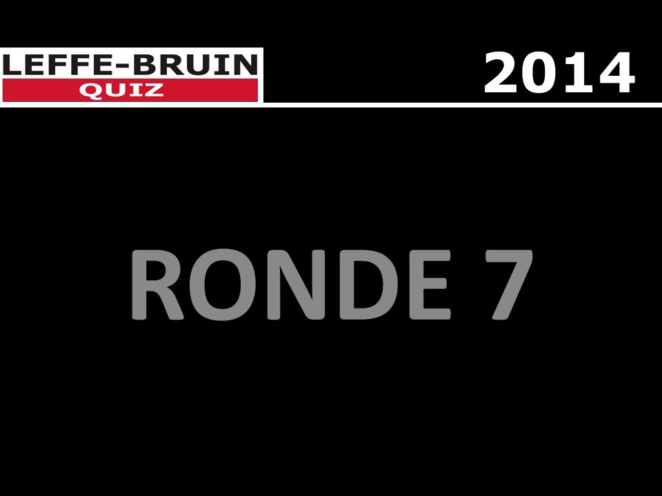 2014 RONDE 7