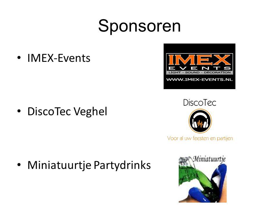 Sponsoren IMEX-Events DiscoTec Veghel Miniatuurtje Partydrinks