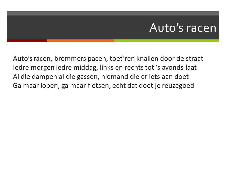 Auto's racen