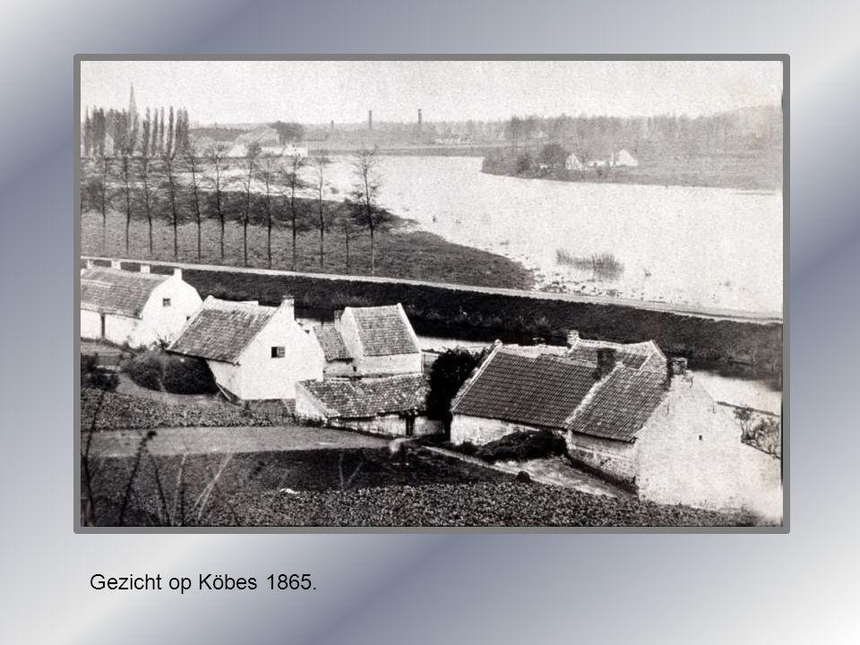 Gezicht op Köbes 1865.
