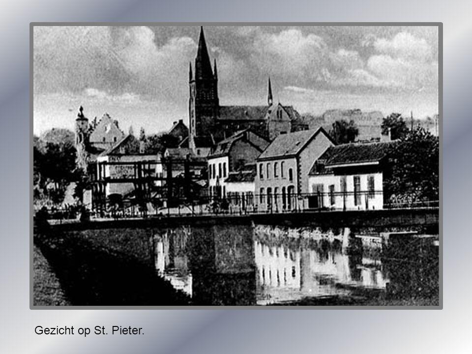 Gezicht op St. Pieter.