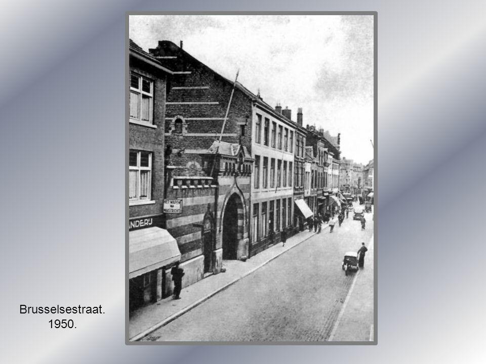 Brusselsestraat. 1950.