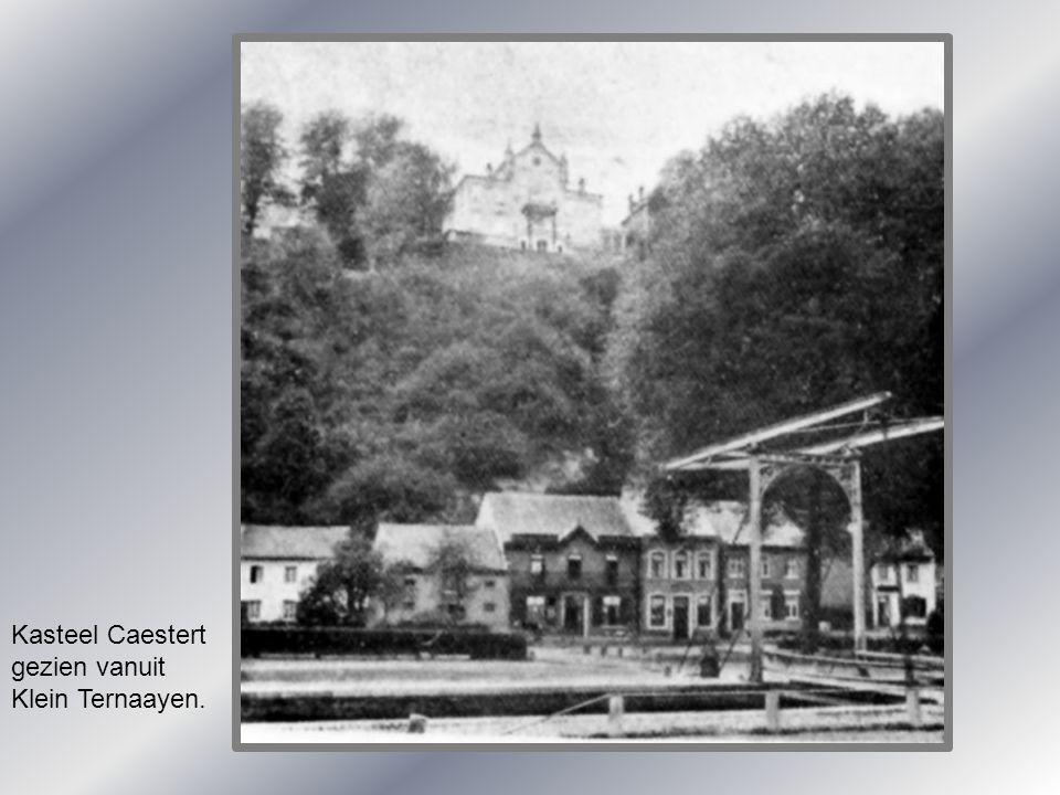 Kasteel Caestert gezien vanuit Klein Ternaayen.