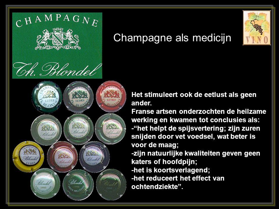 Champagne als medicijn