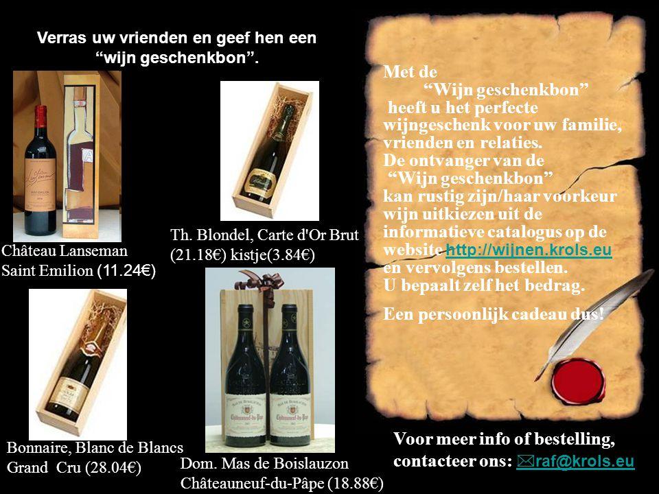 Verras uw vrienden en geef hen een wijn geschenkbon .