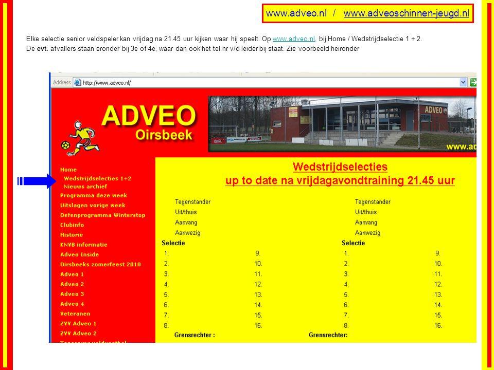 www.adveo.nl / www.adveoschinnen-jeugd.nl